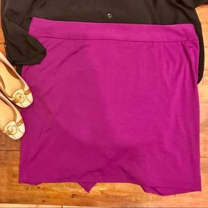 🌵Lane Bryant Purple Pencil Skirt 🌵